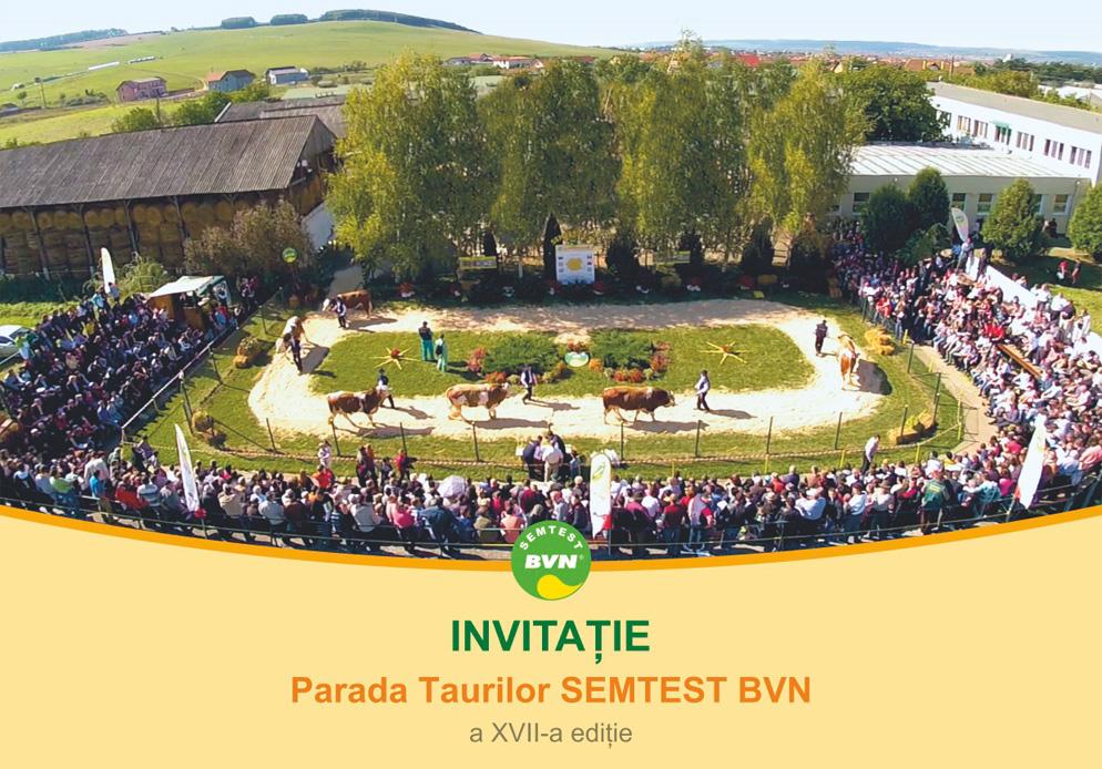 Invitatie Parada Taurilor 2019